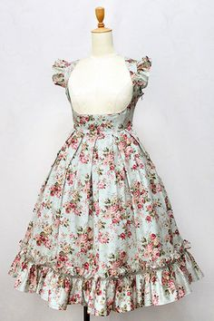 (⋈◍>◡<◍)。✧♡New arrival✨ *Victorian maiden*Rococo Bouquet Apron Frill Long Dress  Estimated arrival: Late March ~ late April 2018 https://www.wunderwelt.jp/en/fleur/products/m-01620  Worldwide shipping available    How to order ✨ → https://www.wunderwelt.jp/en/shopping_guide  ✨ Official online retailer ✨ Wunderwelt Fleur ✨