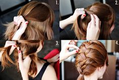 how to make a plait:)