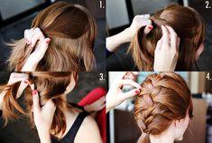 French braid steps 2