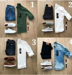 Mens Fashion Summer – The World of Mens Fashion Mens Style Guide, Men Style Tips, Super Moda, Herren Outfit, Outfit Grid, Mens Clothing Styles, Gentleman, Men Dress, Men Casual