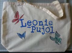 Barnsley Crafter: Leonie's Butterfly Bag.