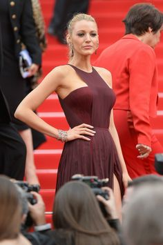 Blake Lively at the Premiere of 'Grace of Monaco' at 67th Annual Cannes Film Festival http://bit.ly/1otzT2h