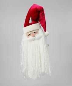 Santa Jingle Door Hanger
