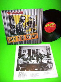 The Clash – Cut The Crap 1985 Vintage Vinyl LP Album This Is England Punk Rock #Punk #TheClash #VinylRecord @PostPunkRecords