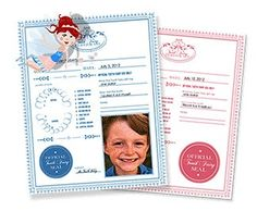 Free Printable Tooth Fairy Certificate!