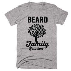 BEARD Family Name Reunion Gathering Surname T-Shirt