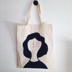 Sacs Tote Bags, Diy Tote Bag, Canvas Tote Bags, Reusable Tote Bags, Diy Bag Designs, Custom Tote Bags, Tods Bag, Printed Tote Bags, Shopper Bag