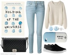 Book Looks: Holding Up the Universe – Jennifer Niven – She Latitude