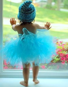 Cuteness in Blue Tutu ~