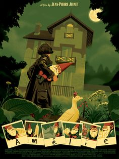 Poster for the movie 'Amélie'Client: UGC France.