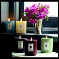 Jo Malone Introduces Collector's Edition Coloured Candles with Farrow & Ball ~ Home Scents