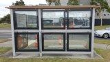 Energy harvesting glass used to build a self-sustainable bus shelter in Melbourne