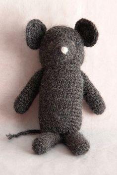 Crochet Little Mouse Pattern