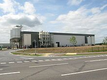 Goole straw pellet plant (2009) Drax power station