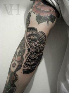 traditional. wondeful tatts.