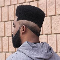Graduated, elevated hair with partitions, fades, afro, and long with edgy outlines are some of the cool black men haircuts and black boys haircuts for Black Boys Haircuts, Black Men Hairstyles, My Hairstyle, Cool Haircuts, Hairstyles Haircuts, Haircuts For Men, Fresh Haircuts, Medium Haircuts, Low Taper Haircut