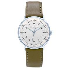 JUNGHANS MAXBILL ユンハンス マックスビル HANDAUFZUG 腕時計 JH-027.3701.00