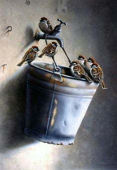 """New full square diy diamond painting cross stitch """"sparrow bird"""" diamond embroidery animal rhinestone diamond painting Cross Paintings, Animal Paintings, Sparrow Bird, House Sparrow, Mosaic Diy, 5d Diamond Painting, Bird Drawings, Bird Pictures, Little Birds"""