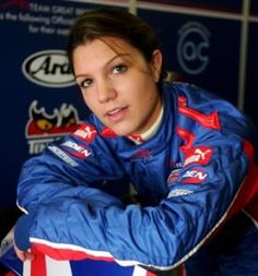 Katherine-Legge - A British racing driver who has been around for well over a decade and won many titles.