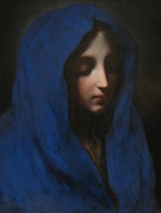 The Blue Madonna - Carlo Dolci 17th century