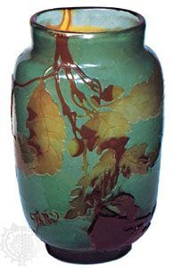 Vase with relief decoration by Émile Gallé, c. 1895; in the Victoria and Albert Museum, London  Courtesy of the Victoria and Albert Museum, London      bookmark mail_outline