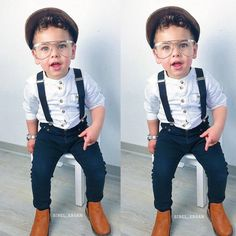 5064c58a5 US Cool Toddler Kids Baby Boys 2/3 Sleeves T-Shirt TopsOveralls Wedding  Outfits