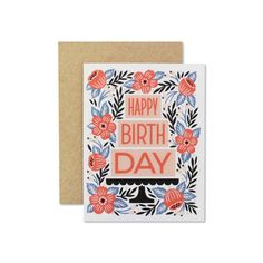 Birthday Cake Card Illustrated and digitally printed on recycled, heavyweight, speckletone paper. Birthday Cake Card, Birthday Greeting Cards, Birthday Greetings, Happy Birthday, Birthday Wishes, Birthday Parties, Bff Christmas Gifts, Birthday Cake Illustration, Cards For Friends