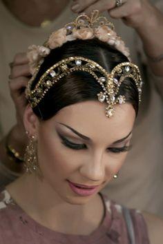 """Ballerina Maria Alexandrova.  Angels """"halos""""?"""