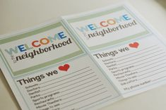 Welcome to the Neighborhood! {by Mique from 30days!} | Beneath My Heart