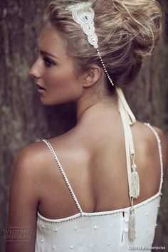 Olivia Headpieces — W Label Bridal Hair Accessories | Wedding Inspirasi