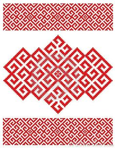 Russian embroider texture
