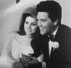 Mr. and Mrs. Elvis A. Presley