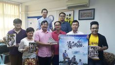 Film director of 'The Prodigal Son' Bjarne Wong (back, left) with members of Star Cineplex and Ching Kwong Methodist Church during a meeting held at the church recently.