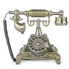 TelPal Rotary Dial Vintage Antique Home Telephone Table R... https://www.amazon.com/dp/B01H4OKY1O/ref=cm_sw_r_pi_dp_x_IcKozbV5KTNPP