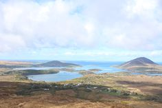An incredible view of Connemara while hiking up Diamond Hill. | Photo by Lucy Mashburn