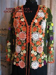.Flower Jacket