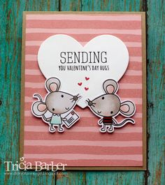 Diary of an Inky Girl…: Reverse Confetti - Mouse Mail