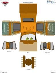 Image result for papercraft disney cars pixar para imprimir