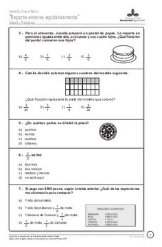 67332002 fracciones-italo[1] Math 5, Math Class, Teaching Math, Math Exercises, Fractions Worksheets, Home Schooling, Math Activities, Mathematics, Homeschool
