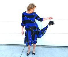 20s Flapper dress I. Magnin Vintage Ires Silk by KMalinkaVintage