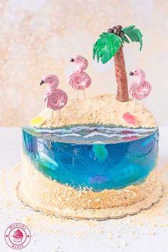 piękny tort dla dziewczynki wyglądający jak nadmorska plaża Party, Birthday Cakes, Food, Google, Pictures, Ideas, Dessert Ideas, Recipies, Photos