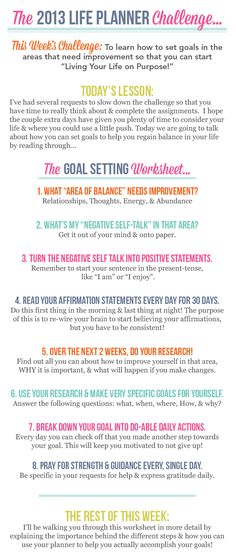This week we're learning how to set goals & actually accomplish them!