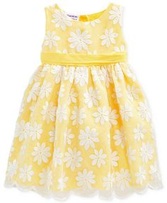 Blueberi Boulevard Baby Girls' Floral Dress