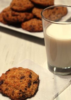 Chocolate Coconut Quinoa Cookies   I am blessed
