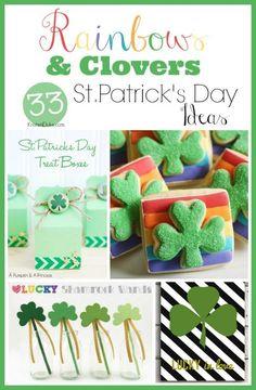 Rainbows & Clovers: 33 ideas for Celebrating St. Patrick's Day | KristenDuke.com