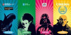 [Concello de Ourense , Festival de Cine Internacional de Ourense e Xunta de Galicia, 2012] Cinema, Comic Books, Comics, Movie Posters, Art, Film Festival, Sash, Art Background, Movies