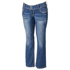 af887fa67f6 Juniors  Plus Size Amethyst Bootcut Jeans Professional Wardrobe