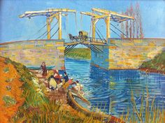 * Vincent van Gogh - - - Brug bij Arles,  Pont de Langlois