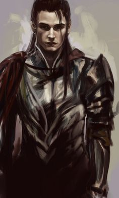 Exercise 15 by *vitellan on deviantART --- I had seen him dance; I had seen a beautiful man like no other in front of me. But now in armour, he seemed like every other man, and the dancer I knew was gone.