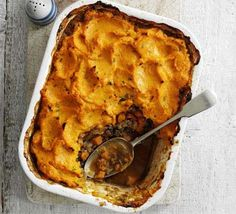 Sweet potato shepherd's pie - this is possibly the best recipe I found for a shepherd's pie, but I'm heart broken that the link no longer works :'( Should have screencapped the recipe!